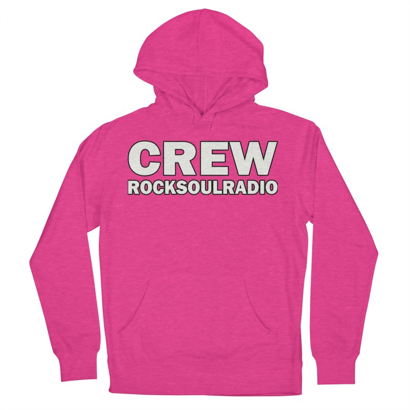RSR CREW SHIRT Women's French Terry Pullover Hoody by Twinkle's Artist Shop