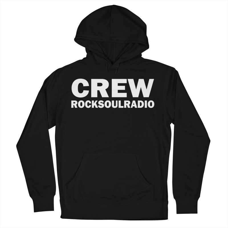 RSR CREW SHIRT Men's French Terry Pullover Hoody by Twinkle's Artist Shop