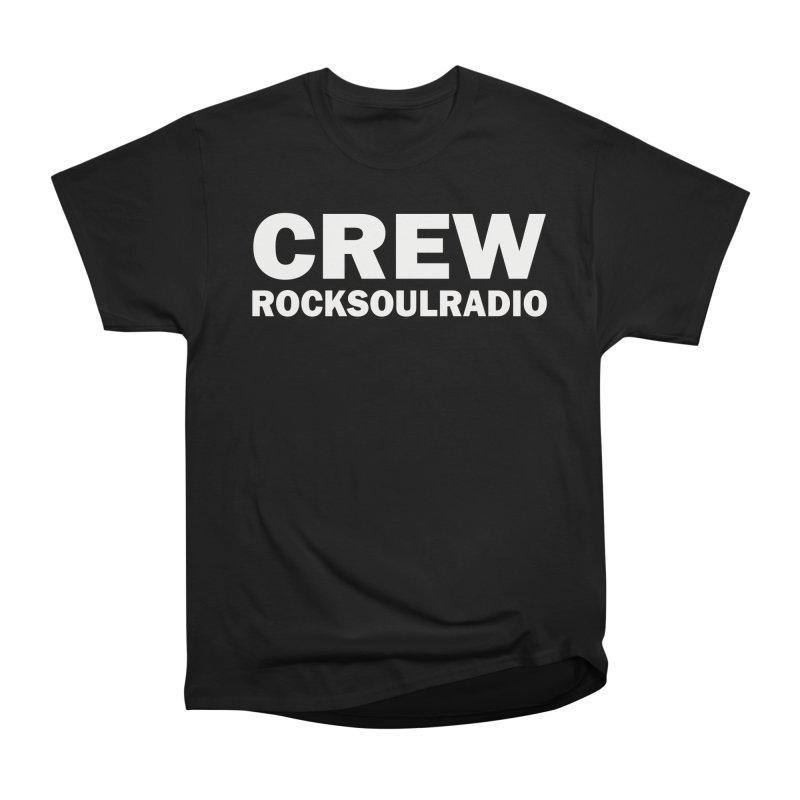 RSR CREW SHIRT Women's Heavyweight Unisex T-Shirt by Twinkle's Artist Shop
