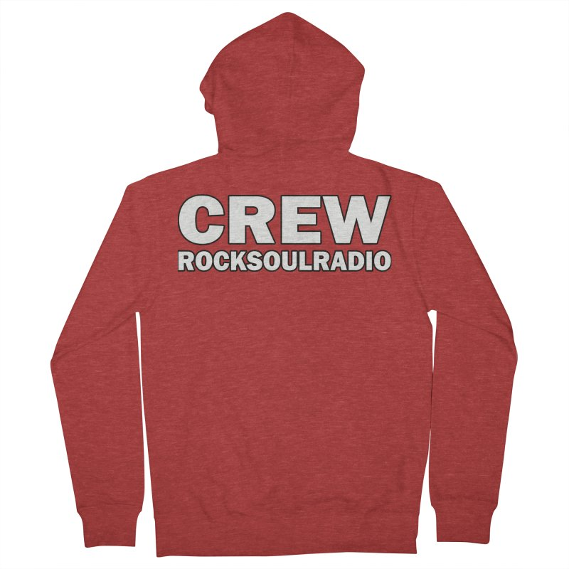 RSR CREW SHIRT Women's Zip-Up Hoody by Twinkle's Artist Shop