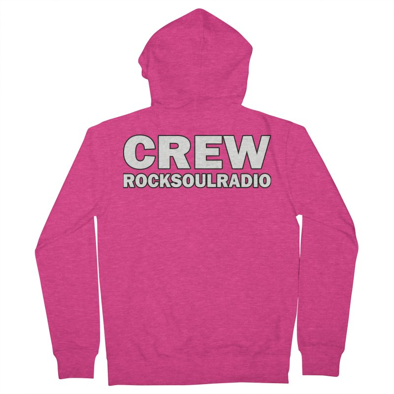 RSR CREW SHIRT Women's French Terry Zip-Up Hoody by Twinkle's Artist Shop