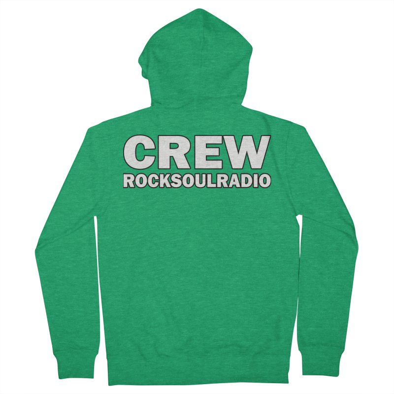 RSR CREW SHIRT Men's Zip-Up Hoody by Twinkle's Artist Shop