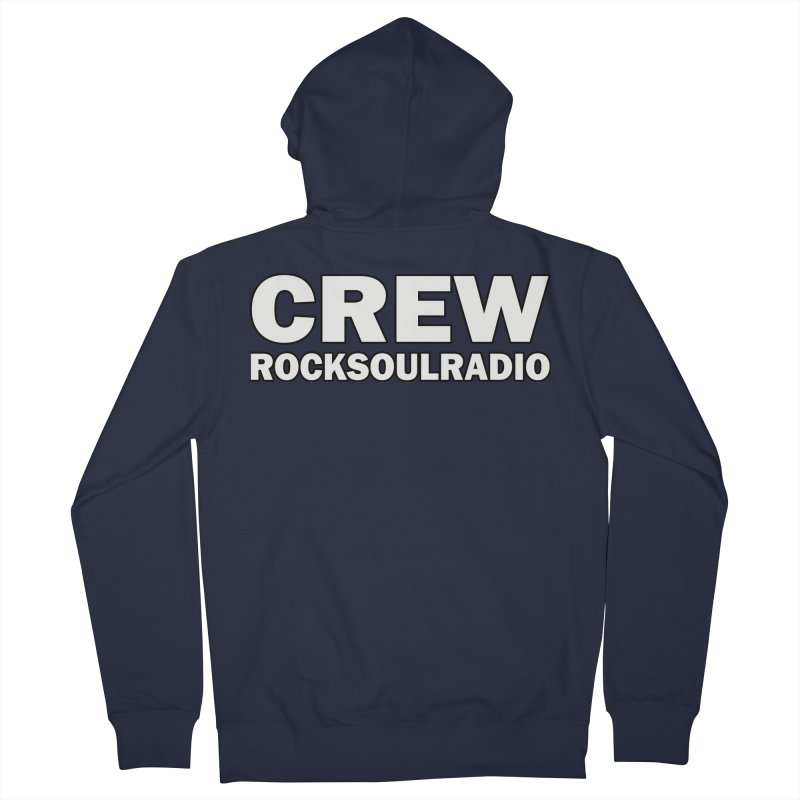 RSR CREW SHIRT Men's French Terry Zip-Up Hoody by Twinkle's Artist Shop