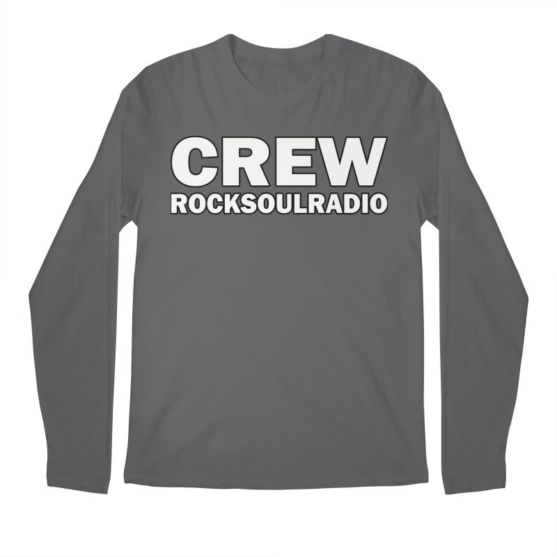 RSR CREW SHIRT Men's Longsleeve T-Shirt by Twinkle's Artist Shop