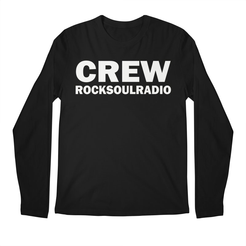 RSR CREW SHIRT Men's Regular Longsleeve T-Shirt by Twinkle's Artist Shop