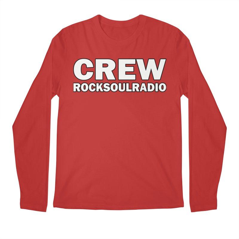 RSR CREW SHIRT Men's Regular Longsleeve T-Shirt by Twinkle's Artist Shop