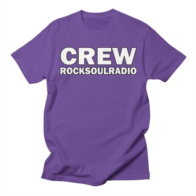 RSR CREW SHIRT Men's Regular T-Shirt by Twinkle's Artist Shop