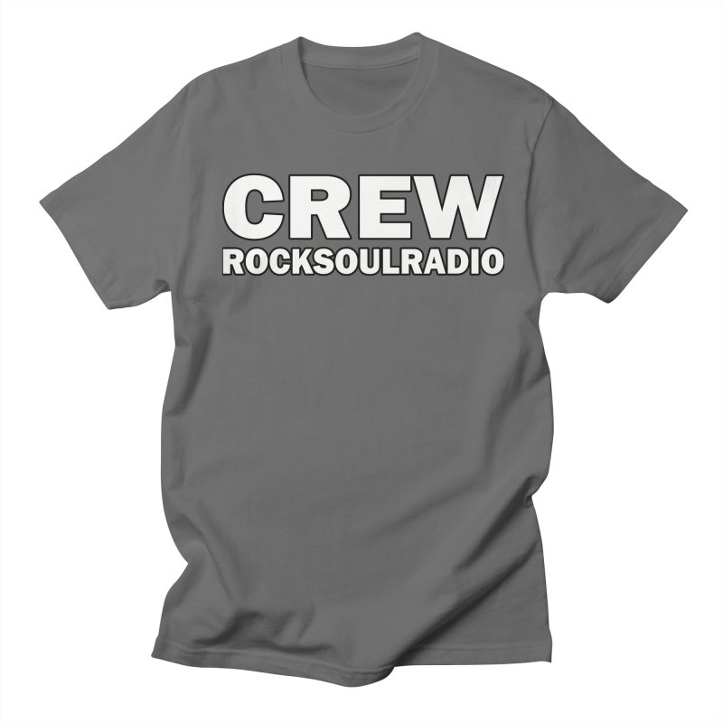 RSR CREW SHIRT Women's Regular Unisex T-Shirt by Twinkle's Artist Shop
