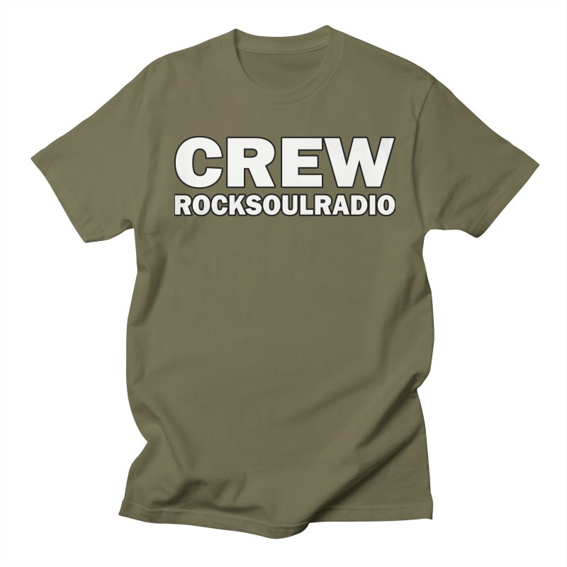 RSR CREW SHIRT Men's Regular T-Shirt by Twinkle's Artist Shop