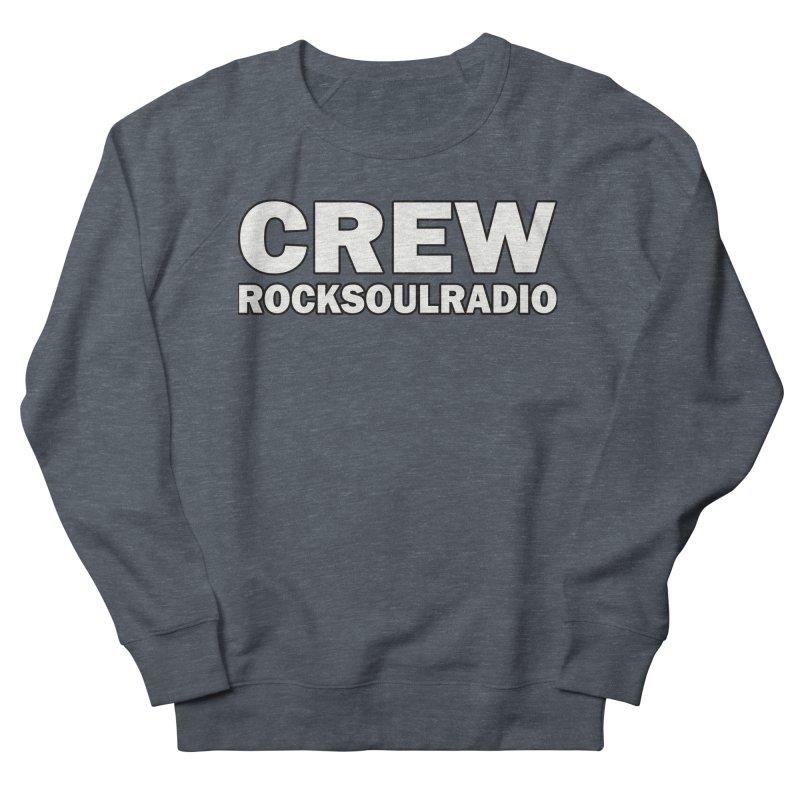 RSR CREW SHIRT Women's French Terry Sweatshirt by Twinkle's Artist Shop
