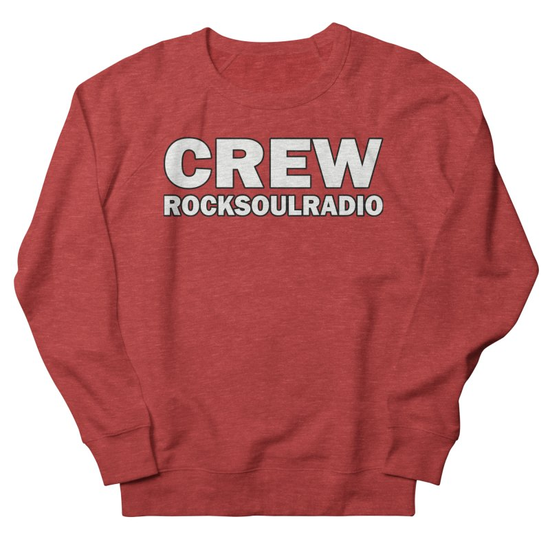RSR CREW SHIRT Men's French Terry Sweatshirt by Twinkle's Artist Shop