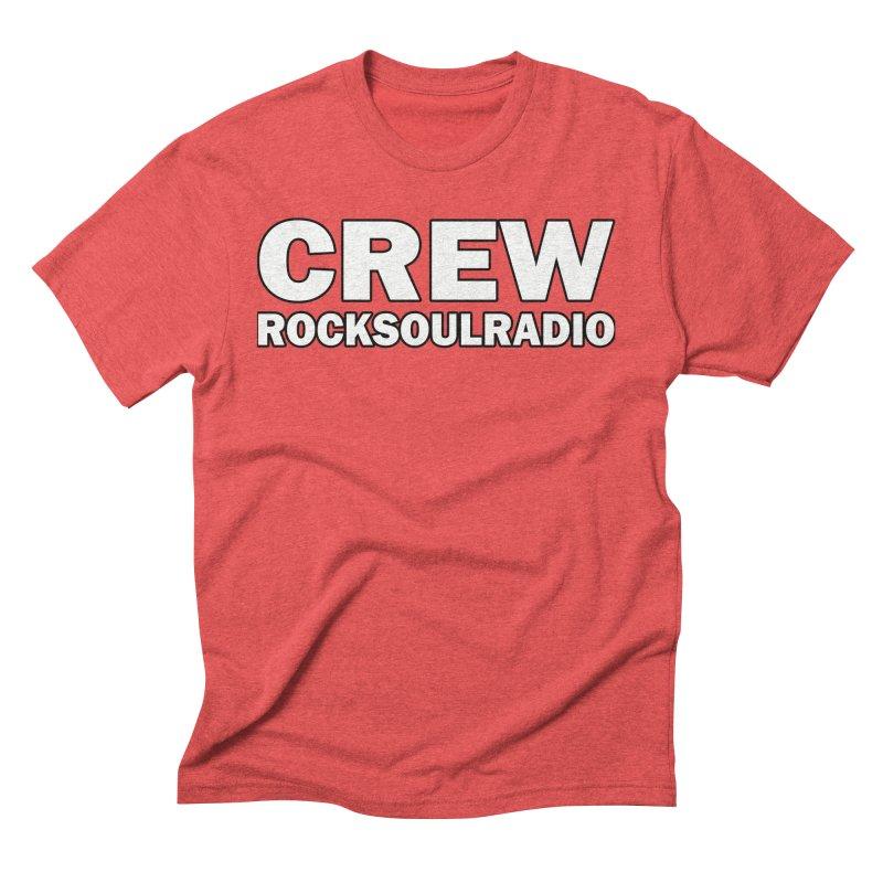 RSR CREW SHIRT Men's Triblend T-Shirt by Twinkle's Artist Shop
