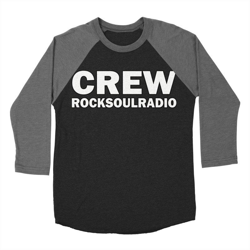 RSR CREW SHIRT Men's Baseball Triblend Longsleeve T-Shirt by Twinkle's Artist Shop