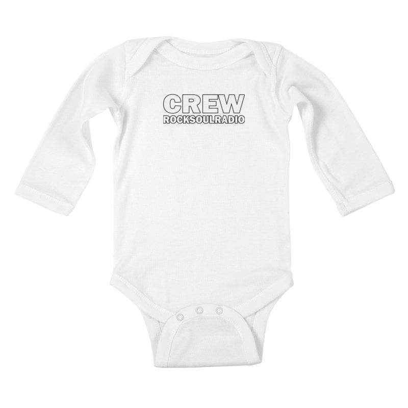 RSR CREW SHIRT Kids Baby Longsleeve Bodysuit by Twinkle's Artist Shop