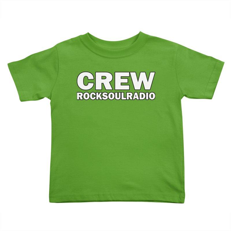 RSR CREW SHIRT Kids Toddler T-Shirt by Twinkle's Artist Shop
