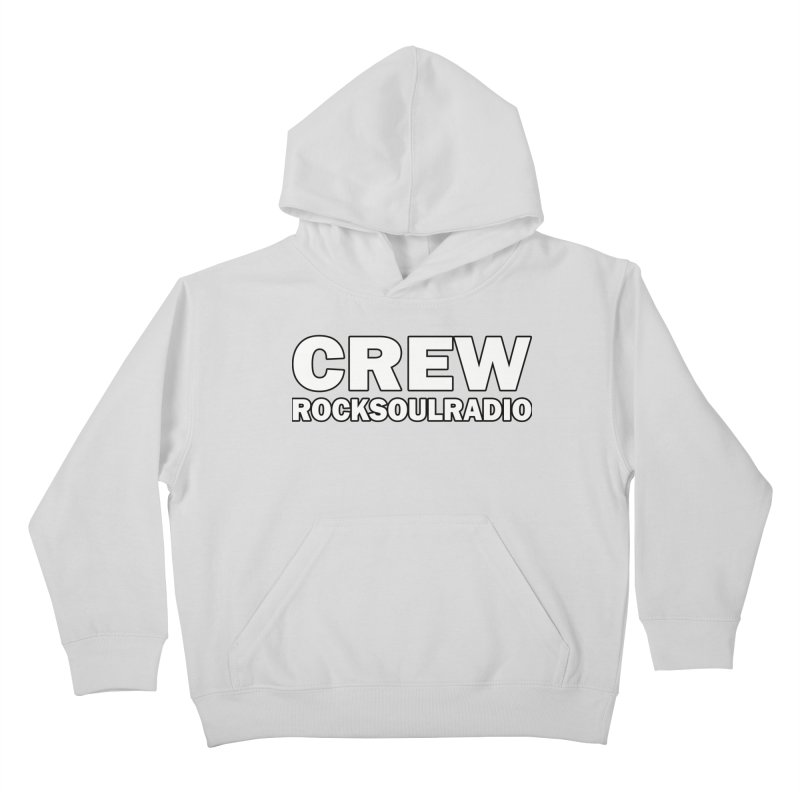RSR CREW SHIRT Kids Pullover Hoody by Twinkle's Artist Shop