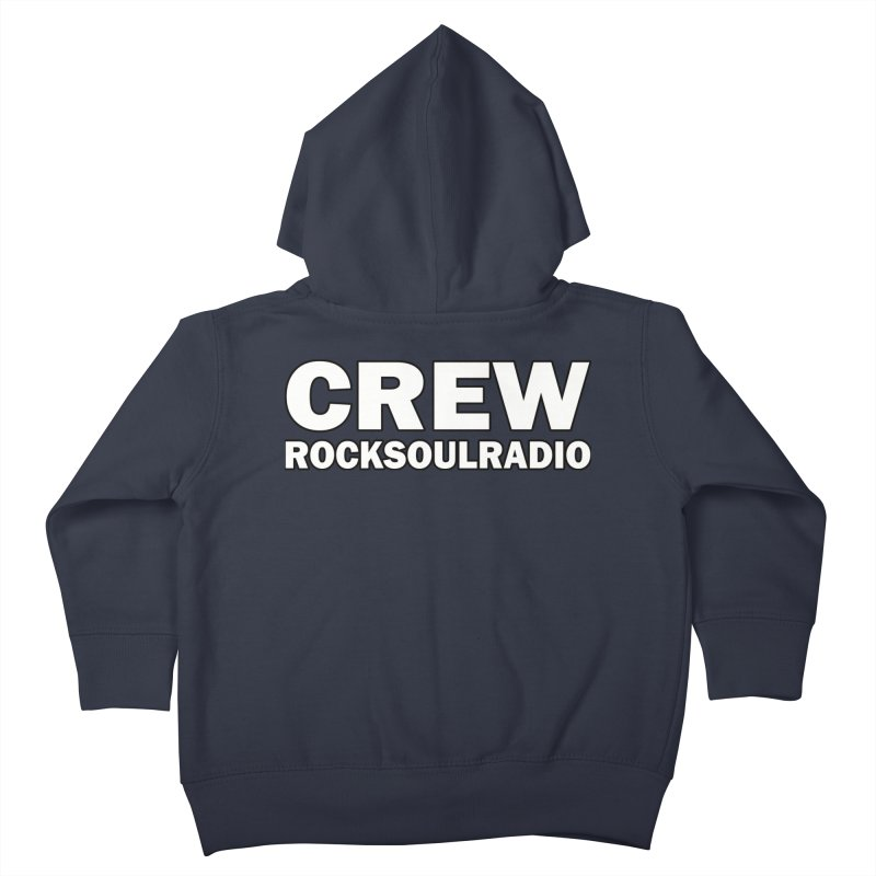 RSR CREW SHIRT Kids Toddler Zip-Up Hoody by Twinkle's Artist Shop