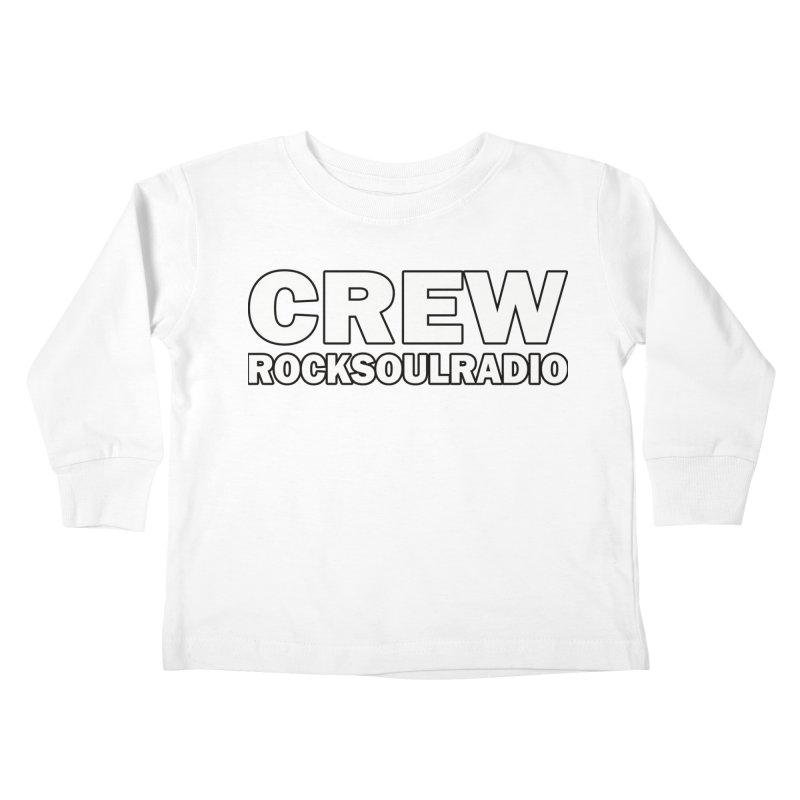 RSR CREW SHIRT Kids Toddler Longsleeve T-Shirt by Twinkle's Artist Shop