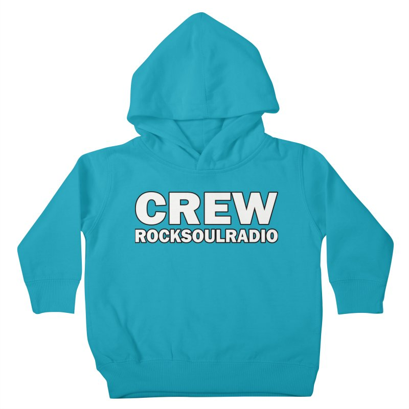 RSR CREW SHIRT Kids Toddler Pullover Hoody by Twinkle's Artist Shop