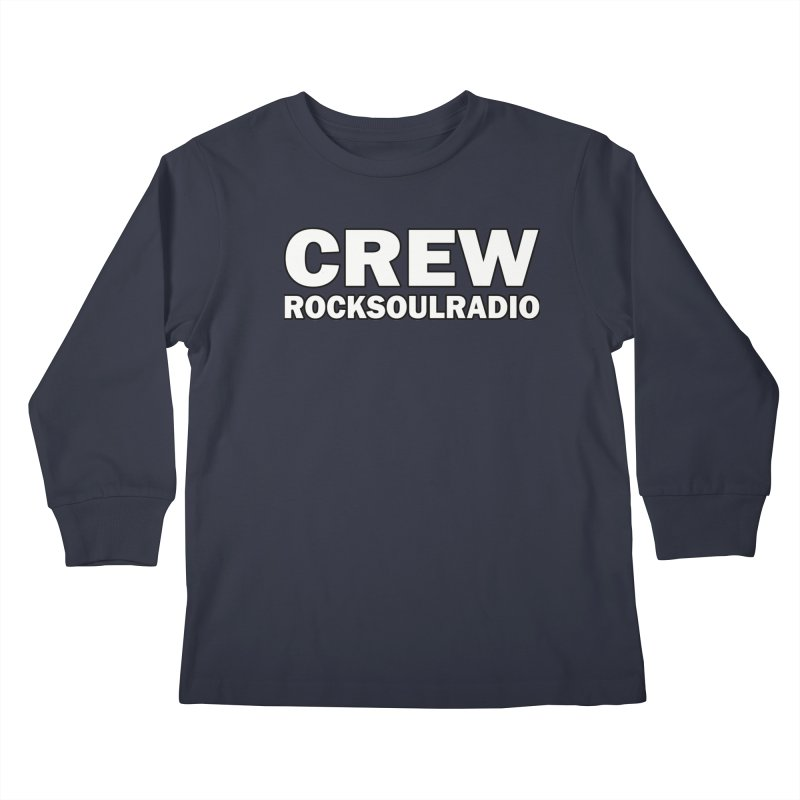 RSR CREW SHIRT Kids Longsleeve T-Shirt by Twinkle's Artist Shop