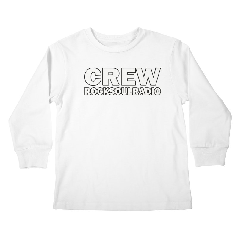 RSR CREW SHIRT Kids Longsleeve T-Shirt by Twinkle's Artist Shop