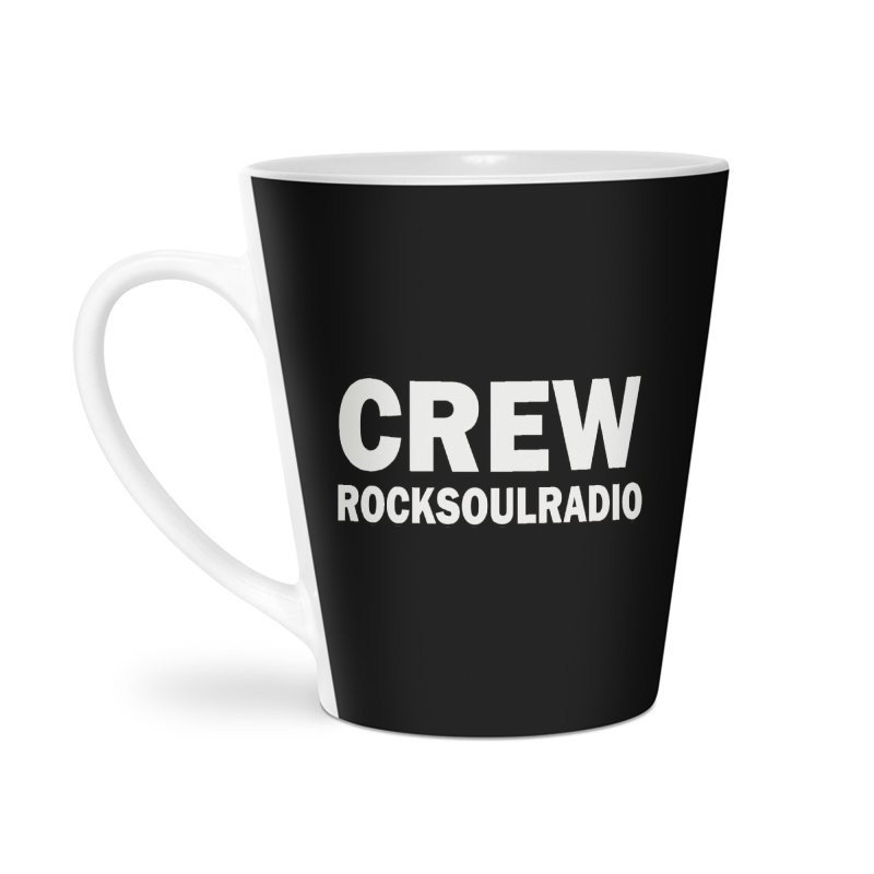 RSR CREW SHIRT Accessories Latte Mug by Twinkle's Artist Shop