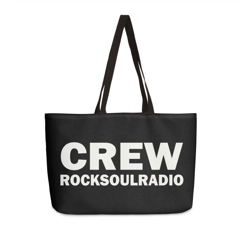 RSR CREW SHIRT Accessories Weekender Bag Bag by Twinkle's Artist Shop