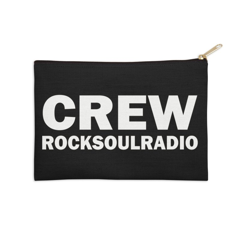 RSR CREW SHIRT Accessories Zip Pouch by Twinkle's Artist Shop
