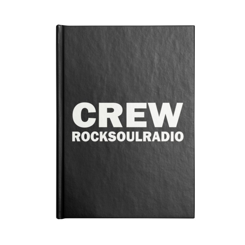 RSR CREW SHIRT Accessories Notebook by Twinkle's Artist Shop