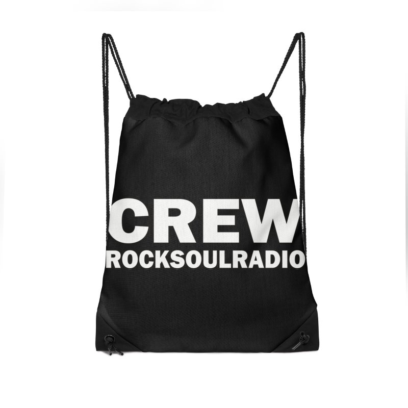 RSR CREW SHIRT Accessories Drawstring Bag Bag by Twinkle's Artist Shop