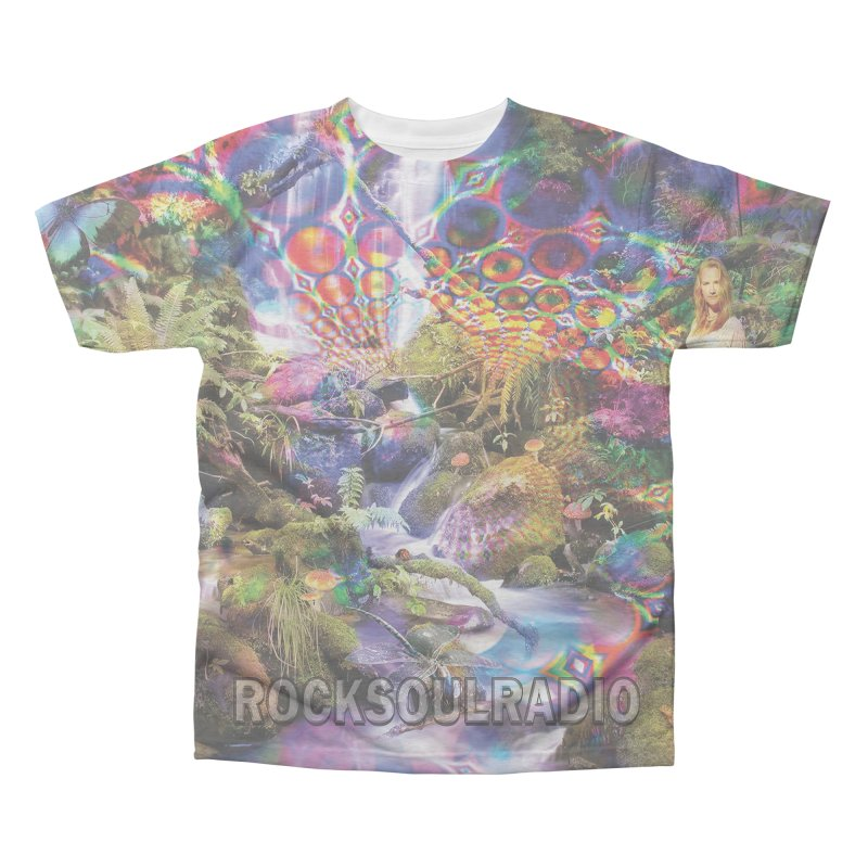Psychatwinkle Men's All-Over Print Triblend T-Shirt by Twinkle's Artist Shop