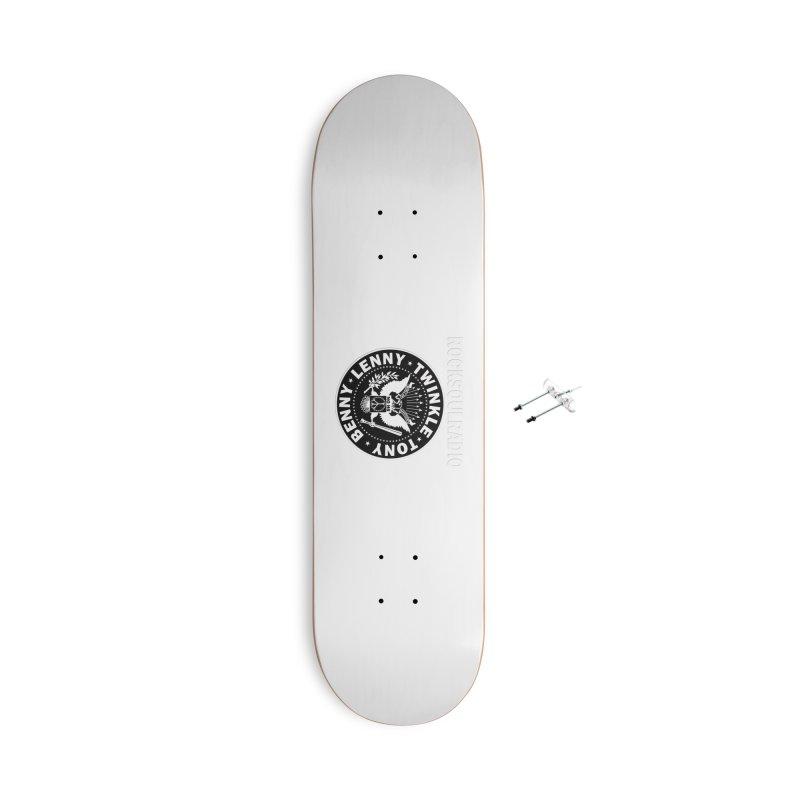 logoleggings white Accessories Skateboard by Twinkle's Artist Shop