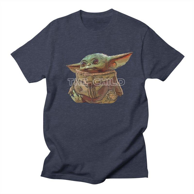 Baby Yoda 3 Men's Regular T-Shirt by TwistedPhillyPodcast's Shop