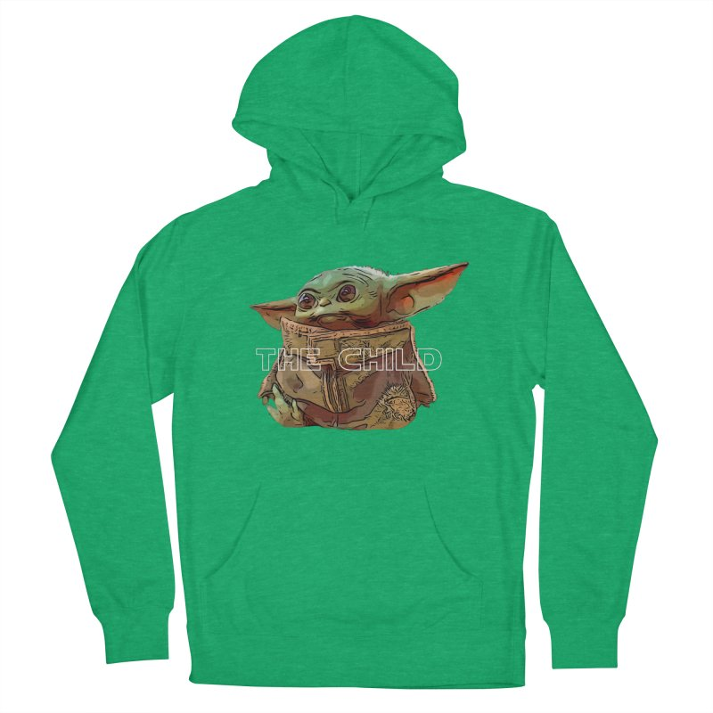 Baby Yoda 3 Women's French Terry Pullover Hoody by TwistedPhillyPodcast's Shop