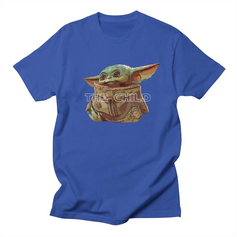 Baby Yoda 3 Women's Regular Unisex T-Shirt by TwistedPhillyPodcast's Shop