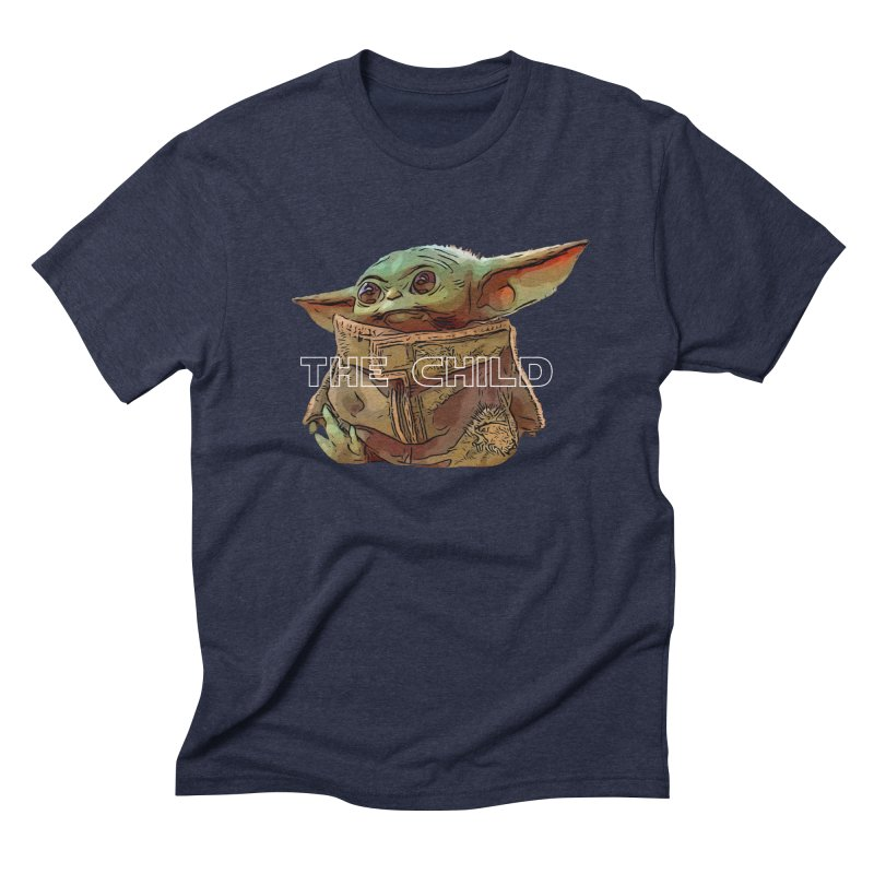 Baby Yoda 3 Men's Triblend T-Shirt by TwistedPhillyPodcast's Shop