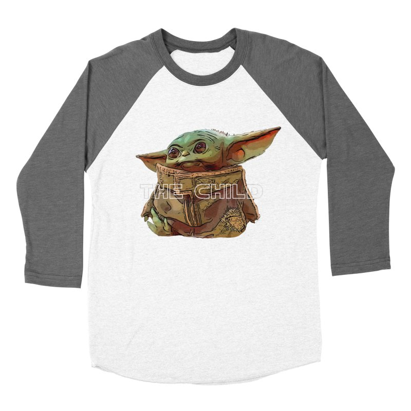 Baby Yoda 3 Men's Baseball Triblend Longsleeve T-Shirt by TwistedPhillyPodcast's Shop