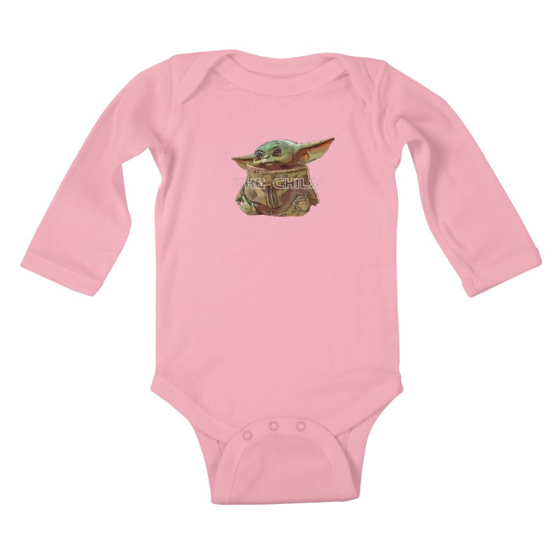 Baby Yoda 3 Kids Baby Longsleeve Bodysuit by TwistedPhillyPodcast's Shop