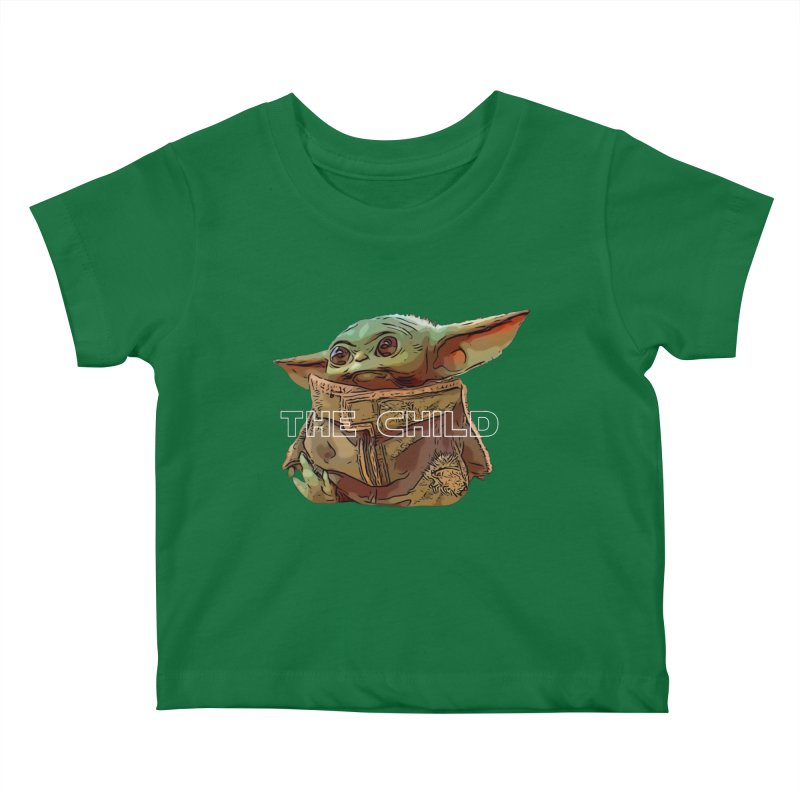 Baby Yoda 3 Kids Baby T-Shirt by TwistedPhillyPodcast's Shop