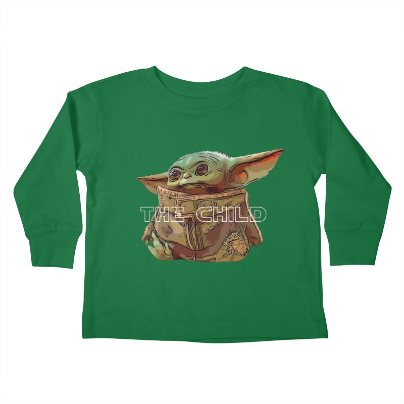 Baby Yoda 3 Kids Toddler Longsleeve T-Shirt by TwistedPhillyPodcast's Shop
