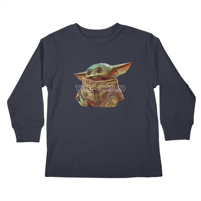 Baby Yoda 3 Kids Longsleeve T-Shirt by TwistedPhillyPodcast's Shop