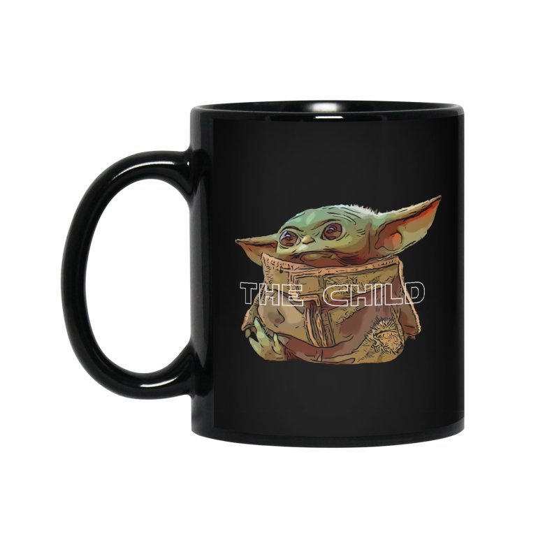 Baby Yoda 3 in Standard Mug Black by TwistedPhillyPodcast's Shop
