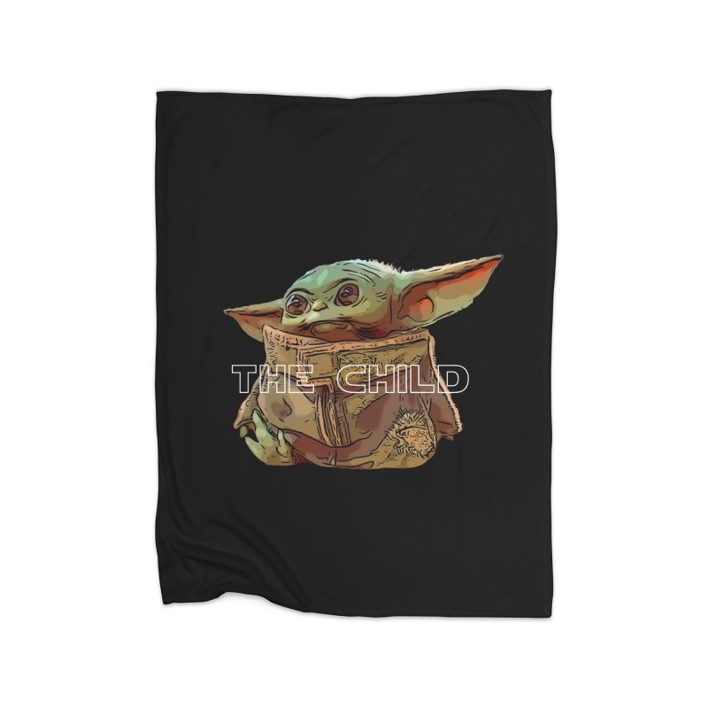 Baby Yoda 3 Home Fleece Blanket Blanket by TwistedPhillyPodcast's Shop