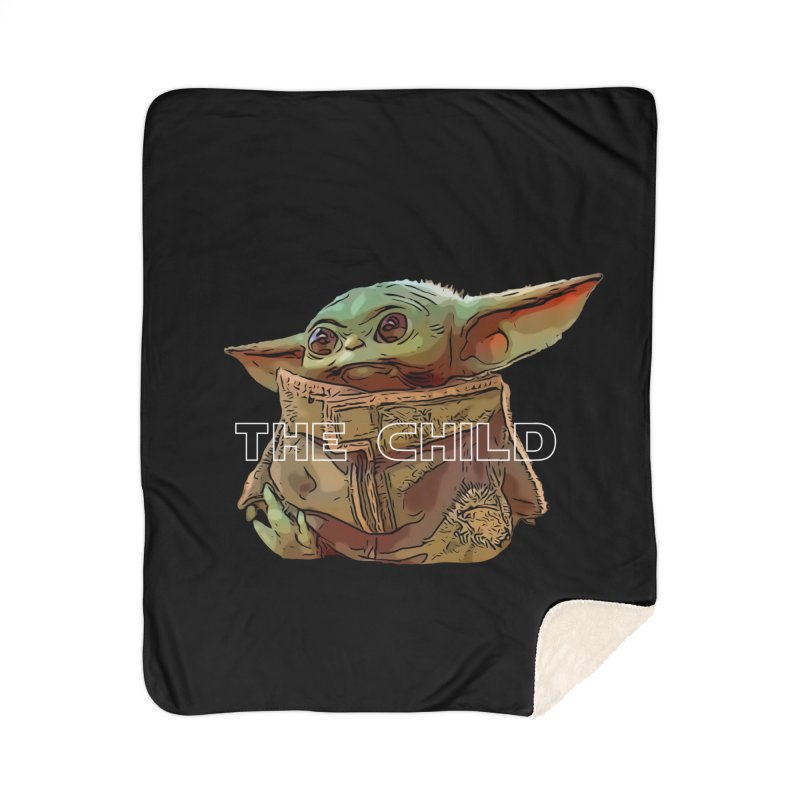 Baby Yoda 3 Home Sherpa Blanket Blanket by TwistedPhillyPodcast's Shop