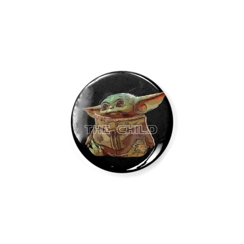 Baby Yoda 3 Accessories Button by TwistedPhillyPodcast's Shop