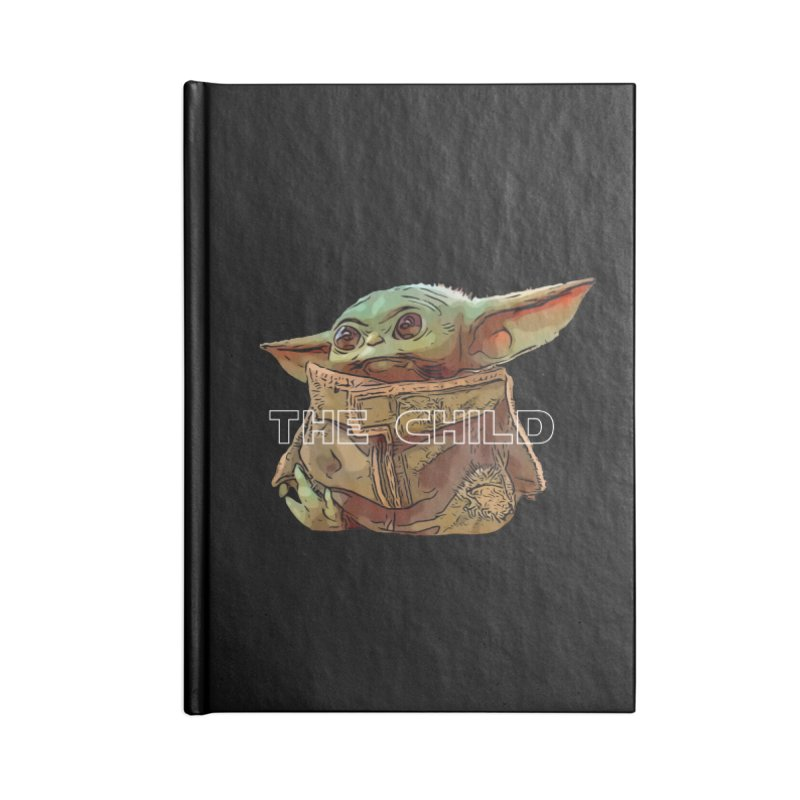Baby Yoda 3 Accessories Lined Journal Notebook by TwistedPhillyPodcast's Shop