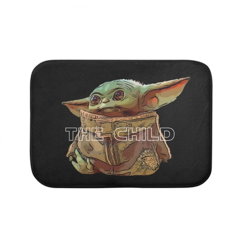 Baby Yoda 3 Home Bath Mat by TwistedPhillyPodcast's Shop
