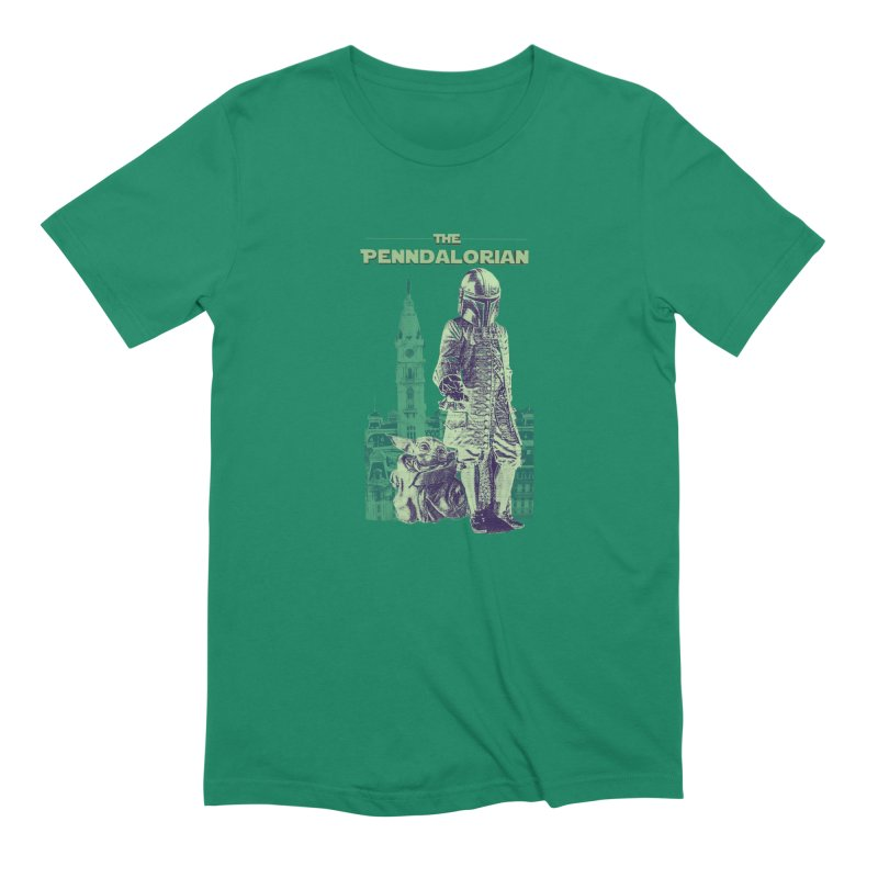 William Penn Baby Yoda Men's Extra Soft T-Shirt by TwistedPhillyPodcast's Shop