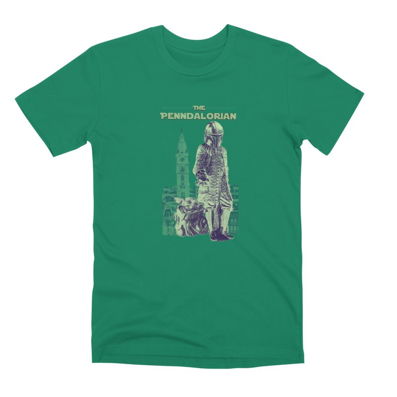 William Penn Baby Yoda Men's Premium T-Shirt by TwistedPhillyPodcast's Shop