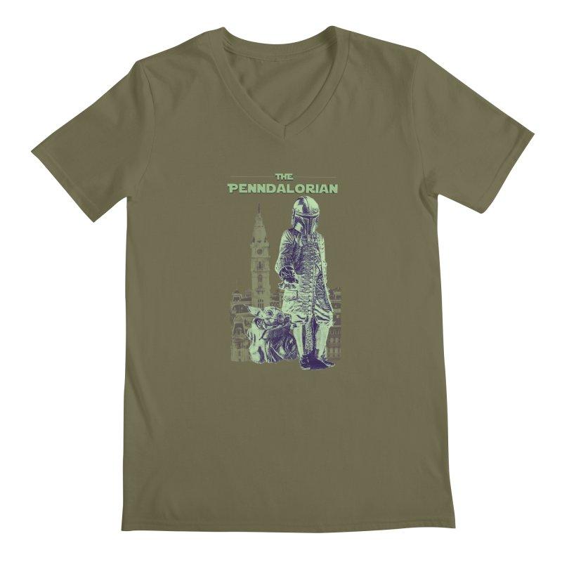 William Penn Baby Yoda Men's Regular V-Neck by TwistedPhillyPodcast's Shop